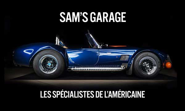 carte de visite Sam's Garage